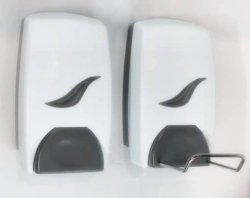 manual soap dispenser DM1000 & DM1000E