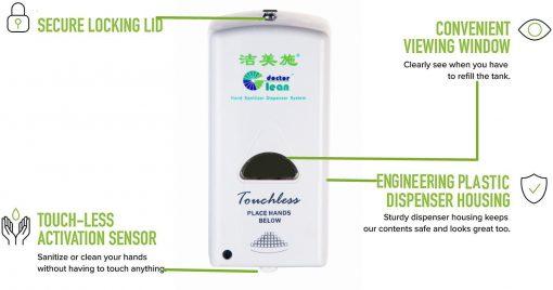 automatic sanitizer dispenser DT800