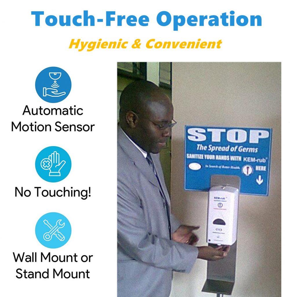 ABS Hospital Sanitizer Dispenser