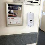 Hand hygiene, hands-free dispenser, touch-free dispensers